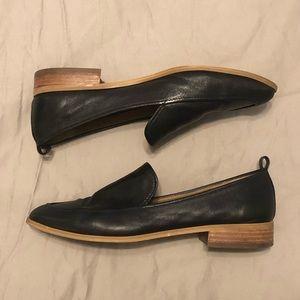 77ae1a31ff4 Susina Shoes - SUSINA Kellen Almond Toe Loafer Black Leather 8.5M